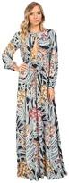 Mara Hoffman Herbarium Keyhole Maxi Dress