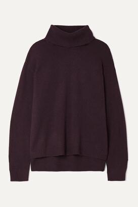 ATM Anthony Thomas Melillo Cashmere Turtleneck Sweater - Burgundy