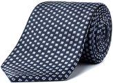 Aston & Gunn Navy Diamonds Tie