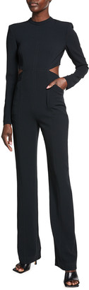A.L.C. Gabriela Cutout Long-Sleeve Jumpsuit