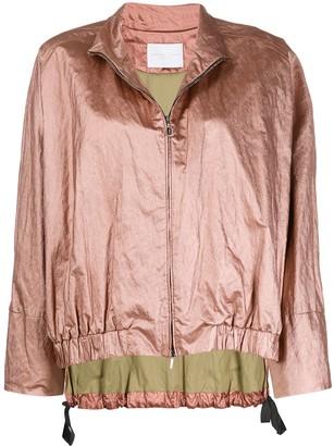 Fabiana Filippi zipped-up bomber jacket