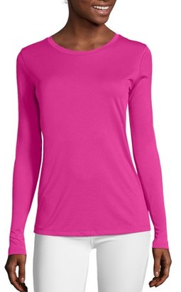 Hanes Sport Cool DRI Women's Performance Long-Sleeve T-Shirt