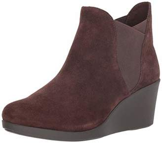 Crocs Women's Leigh Wedge Chelsea Boot Rain