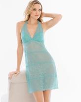 Soma Intimates Ornamental Allover Lace Halter Sleep Chemise