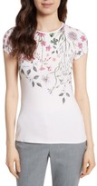 Ted Baker Women's Ebone Unity Floral Fitted Tee
