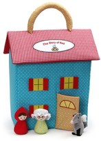 Gund Infant Girl's The Story Of Little Red Riding Hood Dollhouse Set