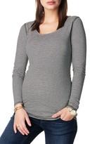 Noppies Women's 'Marit' Reversible Stripe Maternity Tee
