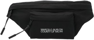 Marcelo Burlon County of Milan Logo Belt Bag