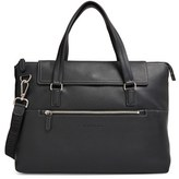 Salvatore Ferragamo Men's 'Manhattan' Soft Leather Briefcase - Black