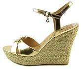 G by Guess Women's Debbra Platform Wedge Sandals.