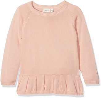 Name It Girl's Nitetdanani Ls Knit F Mini Long Sleeve Top