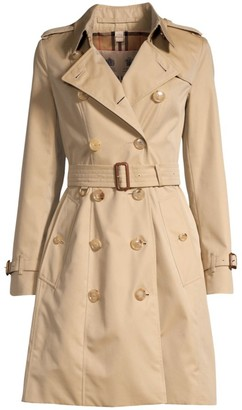 Burberry Heritage Chelsea Mid-Length Trench Coat