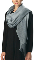 Pure Style Girlfriends Blue Check Scarf