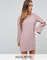 Asos Plunge Neck A Line Dress