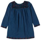 Bonton Milaro Embroidered Denim Dress