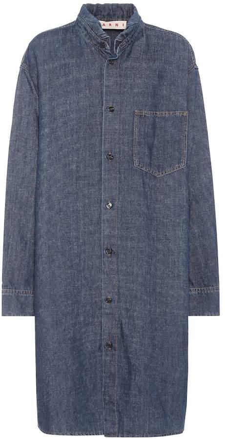 Marni Cotton and linen denim dress