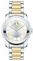 Movado 'Bold' Two-Tone Bracelet Watch, 32mm