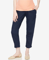 A Pea in the Pod Linen-Blend Cropped Pants