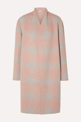 By Malene Birger Carolas Wool-blend Felt Coat - Blush