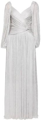 Jonathan Simkhai Adele Metallic Plisse Gown