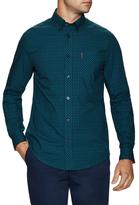 Ben Sherman Printed Long Sleeve Sportshirt