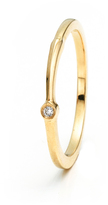 Lulu Frost Code 18K Exclamation Point Ring