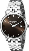 Raymond Weil Men's 5488-ST-70001 Analog Display Quartz Silver Watch
