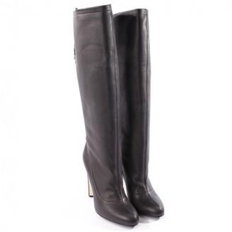 Vionnet Black Leather Boots