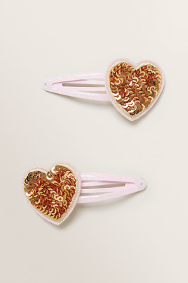 Seed Heritage Sequin Heart Snaps