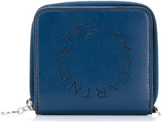 Stella McCartney Perforated Logo Mini Wallet