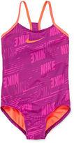 Nike Print One-Piece Swimsuit - Girls 7-14