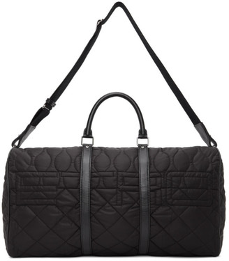 Etro Black Quilted Duffle Bag