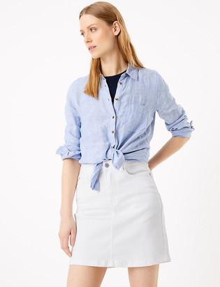 Marks and Spencer Denim Mini Skirt