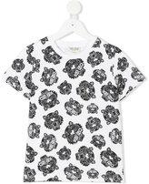 Kenzo multi tiger print T-shirt - kids - Cotton - 8 yrs