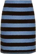 Sonia Rykiel Stretch-bouclé striped skirt