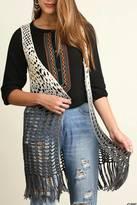 Umgee USA Sleeveless Crochet Vest