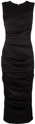 Alex Perry Fitted Ruched Dress