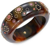 Kate Spade Crystal Accented Tortoise Shell Bangle