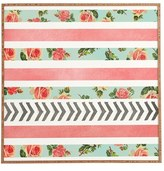 DENY Designs 'Allyson Johnson - Floral Stripes & Arrows' Wall Art