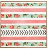 DENY Designs 'Allyson Johnson - Floral Stripes & Arrows' Wall Art