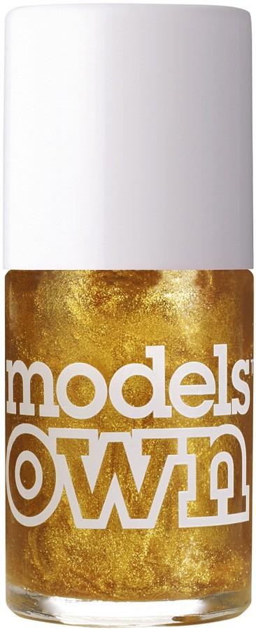 Models Own Shimmer Gold Rush Nail Polish