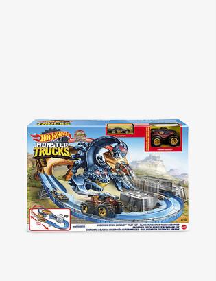 Hot Wheels Hot Wheels& Monster Truck Scorpion Sting RacewayTM play set