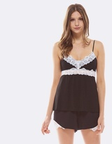 Deshabille Essential Cami & Shorts Gift Set Black