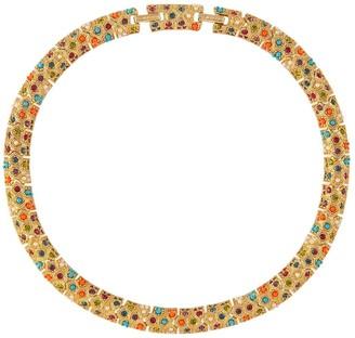 Susan Caplan Vintage 1980s Vintage Dorlan Colourful Swarovski Crystal Collar