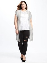 Old Navy Lightweight Super Long Plus-Size Cardi