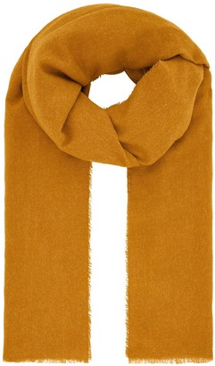 Accessorize Wells Supersoft Blanket Scarf - Yellow
