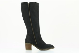 Kickers Paolina Leather Knee-High Boots with Heel