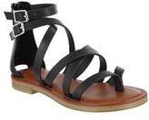 Mia Women's Agitha Gladiator Sandal