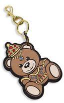 Moschino Teddy Bear Leather Keychain