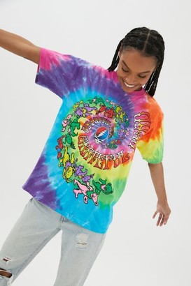 Liquid Blue Grateful Dead Bears Tie-Dye Tee